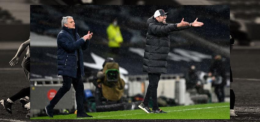 【英超】克洛普真的是『伐穆工』,生涯7胜穆里尼奥,利物浦3-1击败热刺