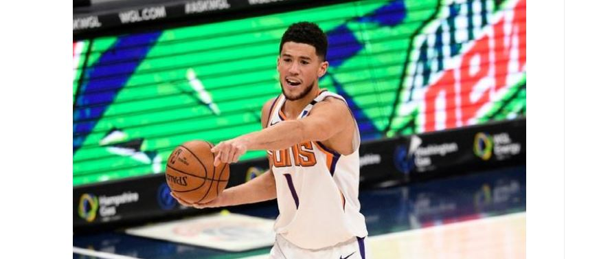 【NBA】生涯第700记三分!布克成太阳队史第4人!