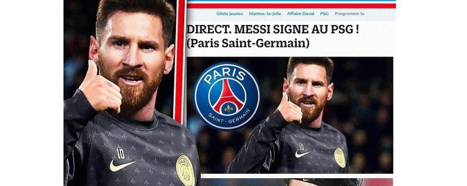 【足球转会】巴黎人报:大巴黎筹上亿欧元准备签下梅西,下赛季规划已经上线