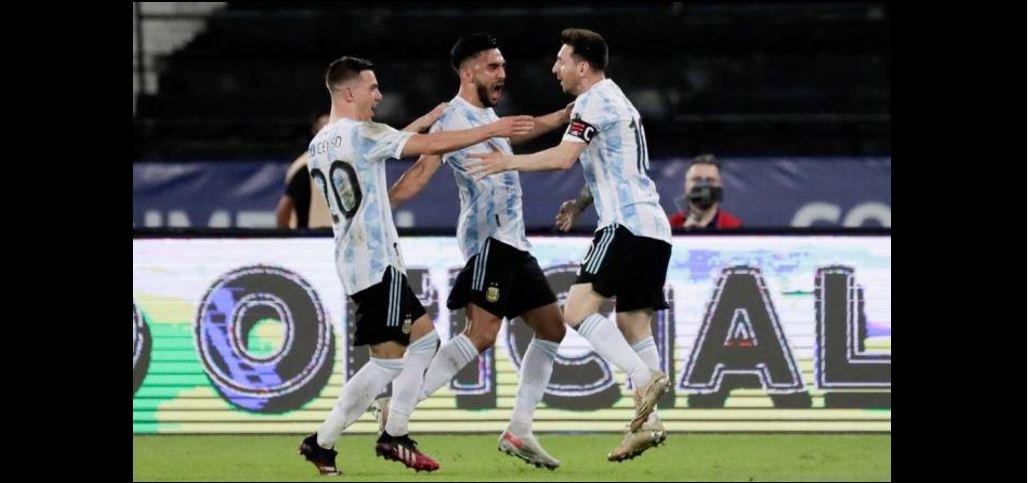 【美洲杯】戈麦斯劲射建功!阿根廷1-0胜巴拉圭,确定晋级美洲杯8强